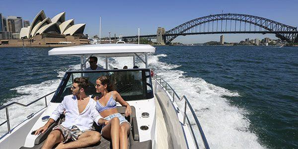 Sydney Harbour Boat Tours. Photo by Salty Dingo