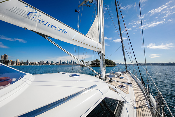 Chapman Yacht Management Concerto 72 © Photo by Salty Dingo 2019
